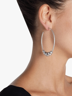 Edna Large Hoop Earrings