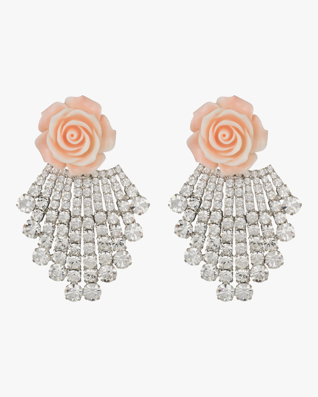 Rose Chandelier Earrings