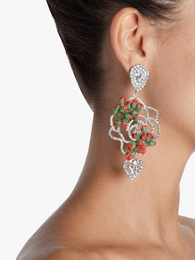 Amaryllis Statement Earrings