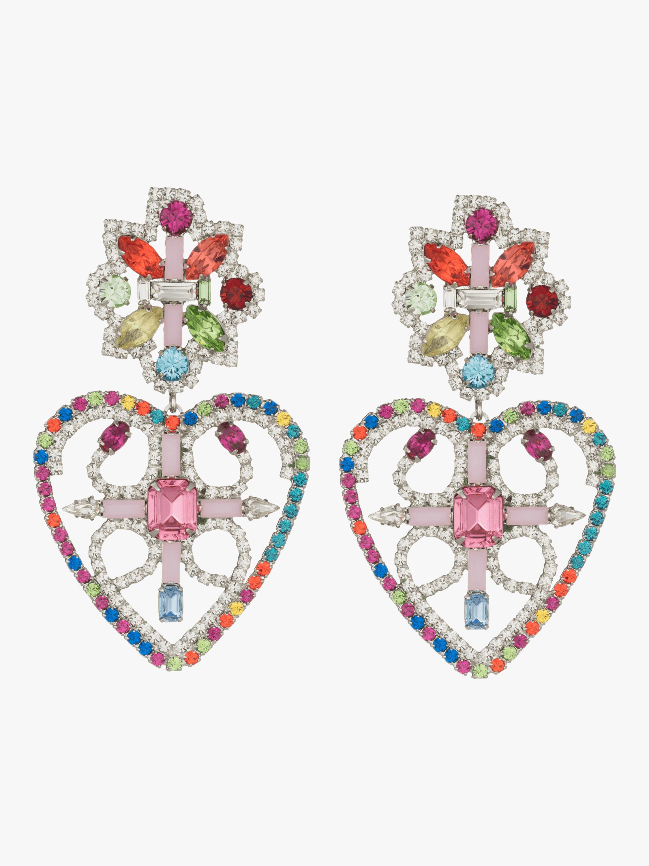 Camellias Rainbow Statement Earrings