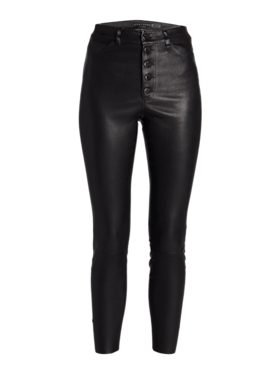 Mikah High Rise Button Front Pants