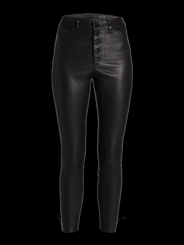 Mikah High Rise Button Front Pants