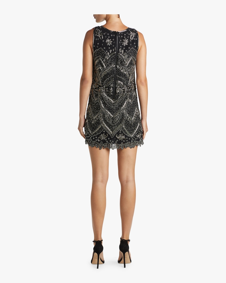 Clyde A-Line Shift Dress Alice and Olivia