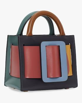 Bobby 16 Leather Top Handle Bag