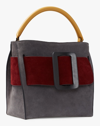 Devon 21 Leather Top Handle Bag