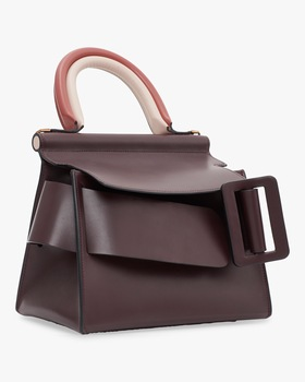 Karl 24 Leather Top Handle Bag
