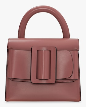 Lucas Leather Top Handle Bag