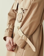 CAALO Sustainable Water Resistant Cotton Trench Coat 3