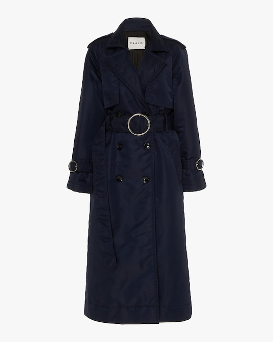 CAALO Sustainable Down Trench Coat 0