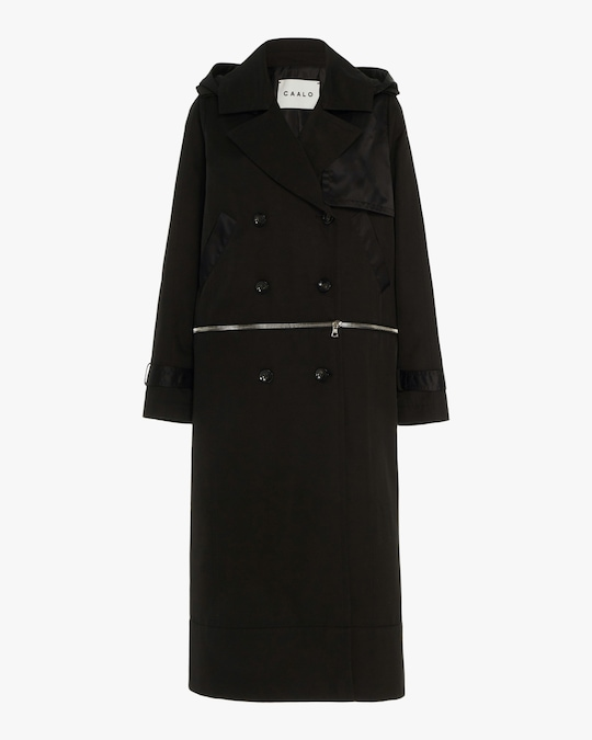 CAALO Sustainable Convertible Hooded Trench 0