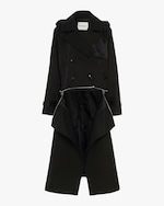 CAALO Sustainable Convertible Hooded Trench 3