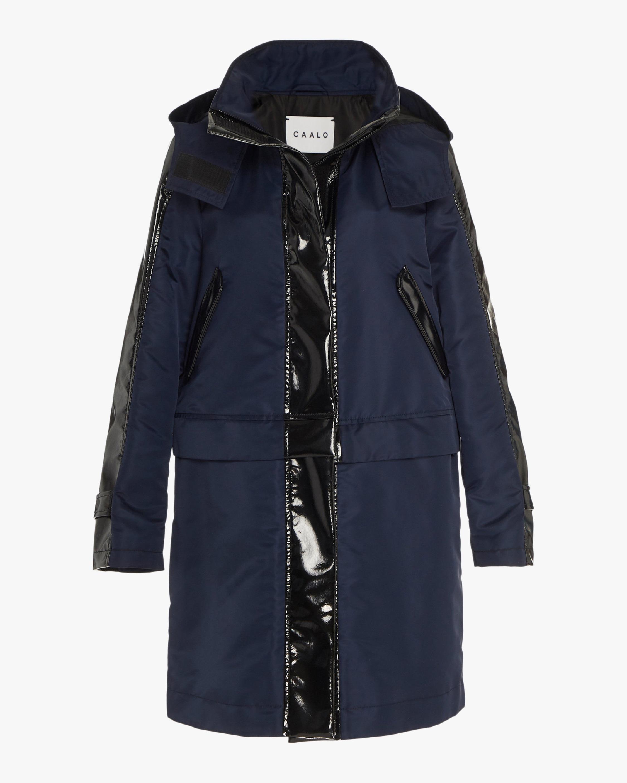 CAALO Glossed Convertible Sustainable Raincoat 1