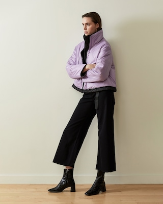 CAALO Reversible Cropped Down Coat 2