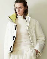 CAALO Reversible Cropped Down Coat 1