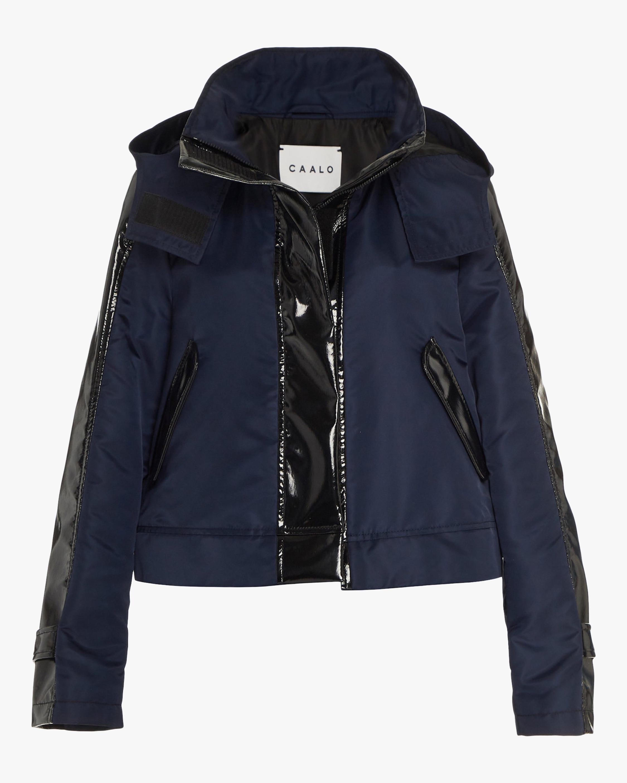 CAALO Cropped Sustainable Raincoat 1