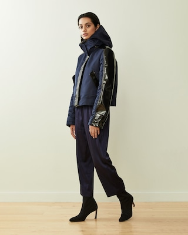 CAALO Cropped Sustainable Raincoat 2