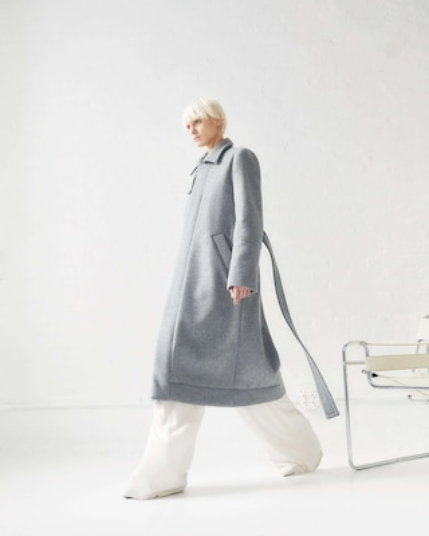 CAALO Sustainable Down Wool Over Coat 2
