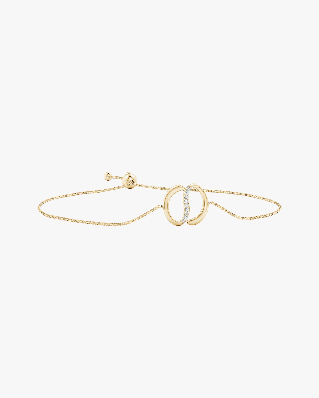 Natori Yin-Yang Diamond Shangri-La Bolo Bracelet 0