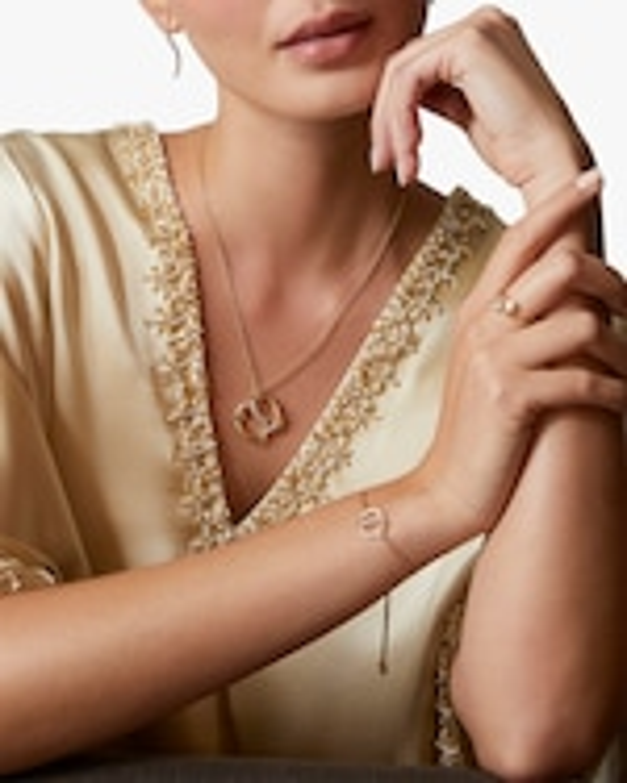 Natori Yin-Yang Diamond Shangri-La Bolo Bracelet 2