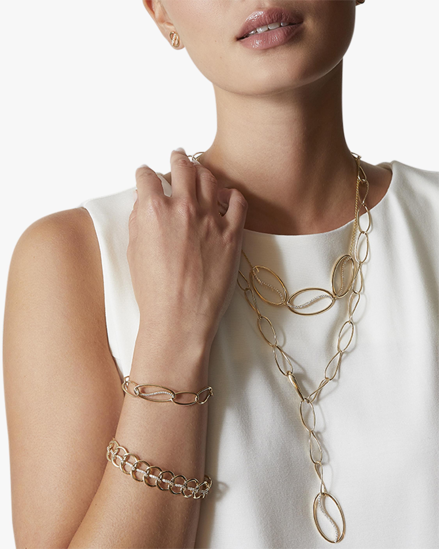 Natori Yin-Yang Diamond Shangri-La Curb Chain Bracelet 3