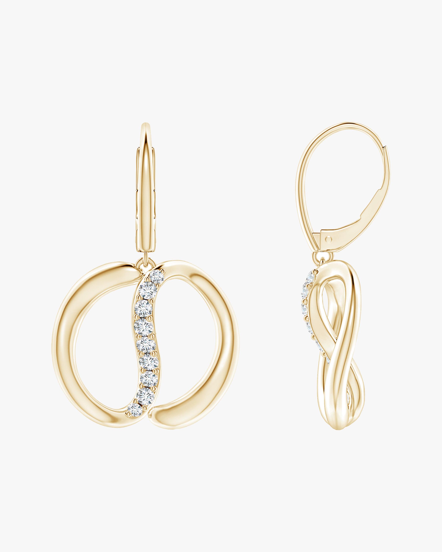 Natori Yin-Yang Diamond Shangri-La Earrings 0