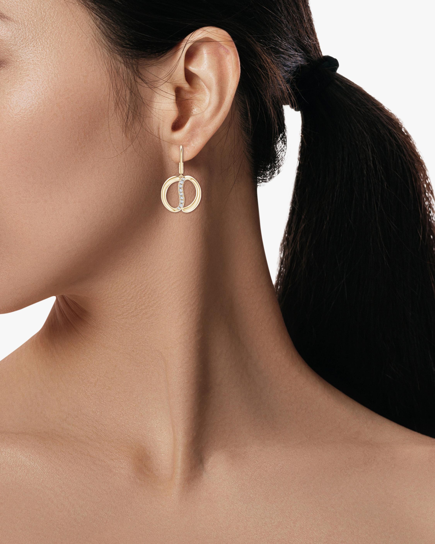 Natori Yin-Yang Diamond Shangri-La Earrings 2