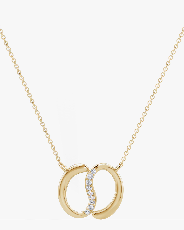 Natori Yin-Yang Diamond Shangri-La Necklace 0
