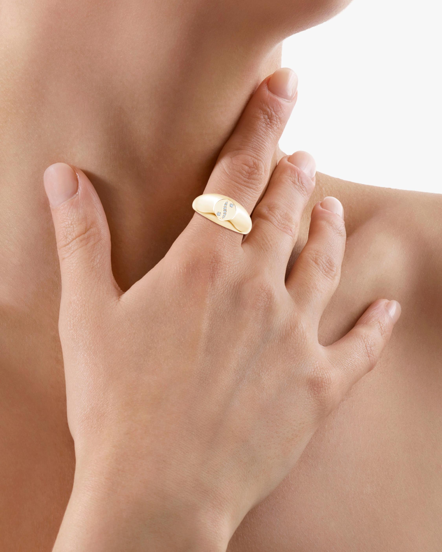 Natori Shangri-La Yin-Yang Diamond Signet Ring 2