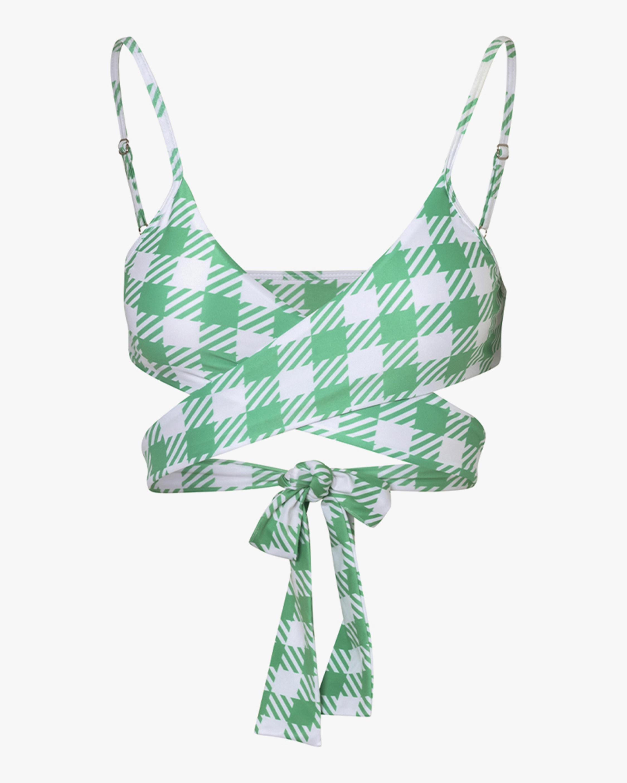 Verde Limón Miramar Bikini Top 1