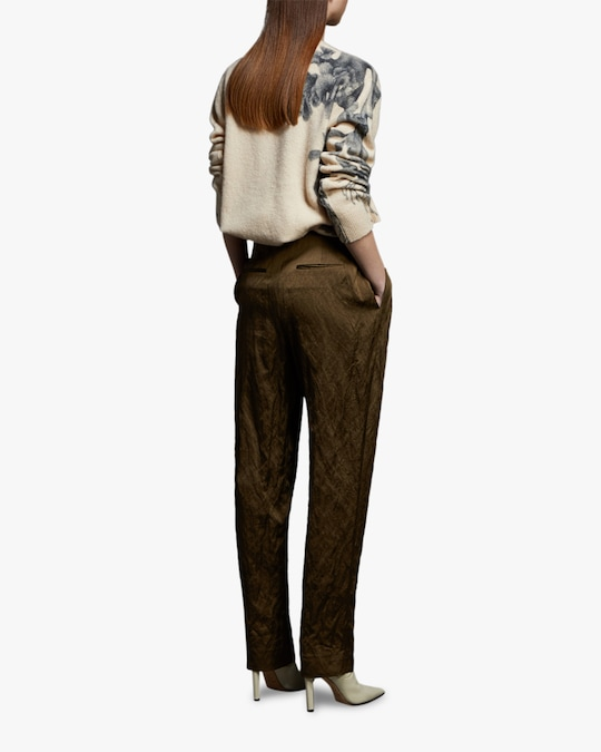Jason Wu Collection Crinkled Belted Pants 1