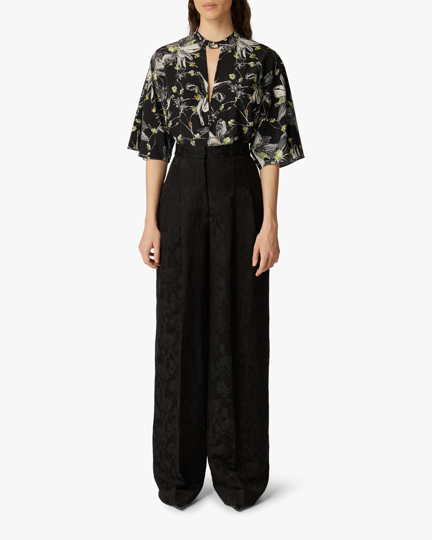 Jason Wu Collection Short-Sleeve Tunic Top 0