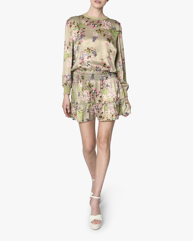 Nicole Miller Drop-Waist Mini Dress 0