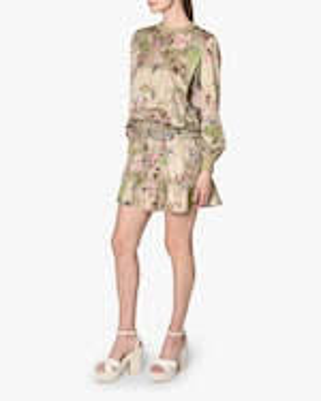 Nicole Miller Drop-Waist Mini Dress 2