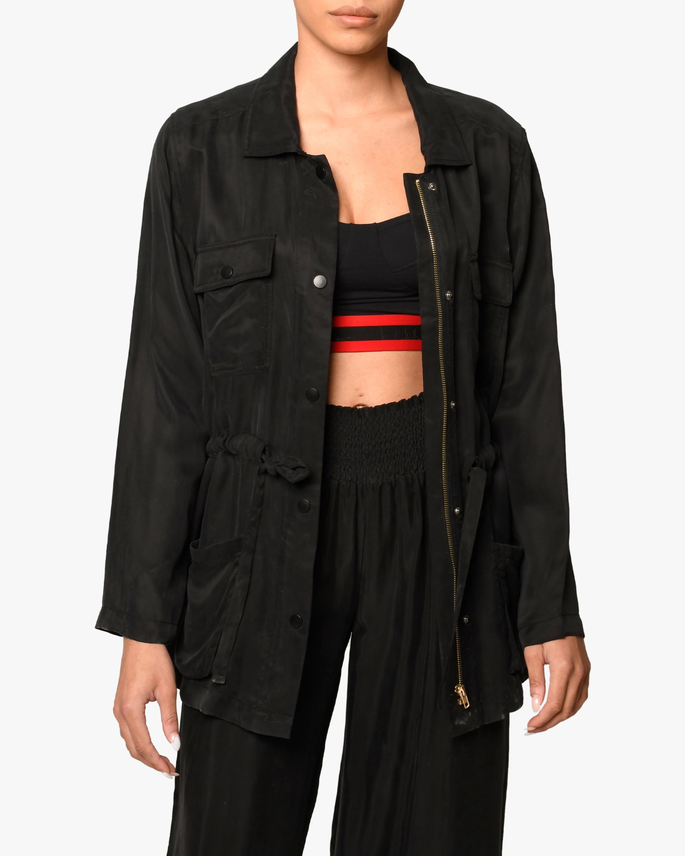 Nicole Miller Cargo Jacket 0