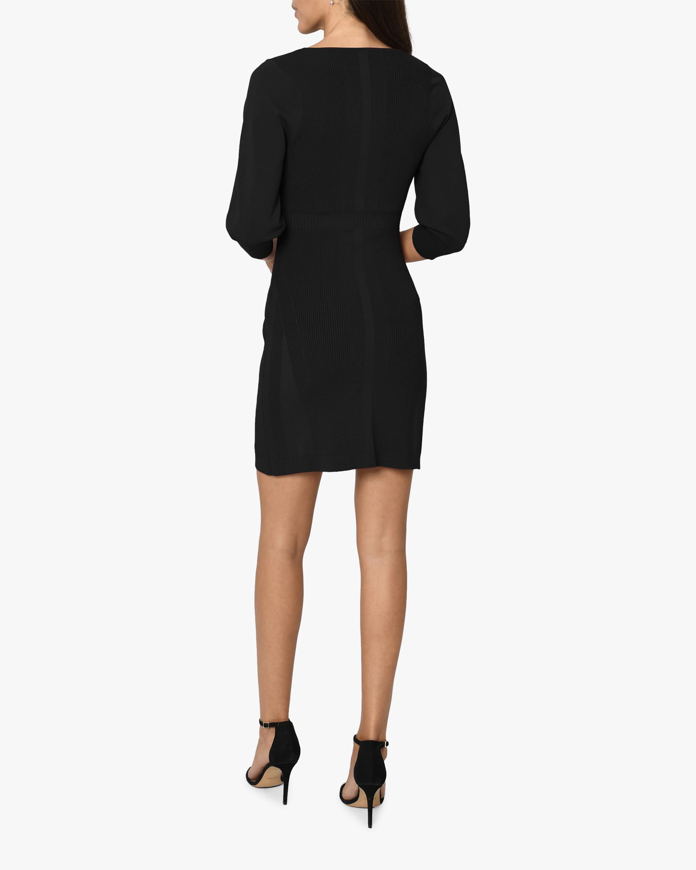 Nicole Miller Ribbed-Knit Mini Dress 1