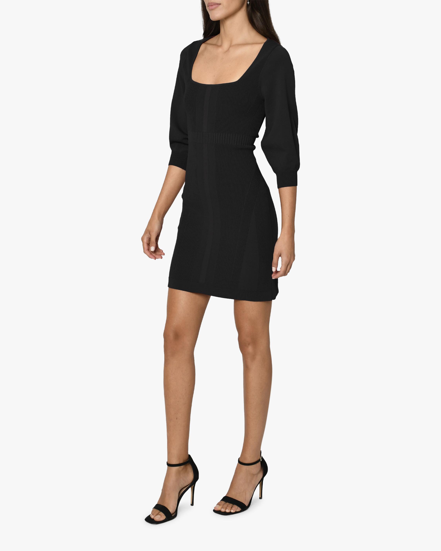 Nicole Miller Ribbed-Knit Mini Dress 2