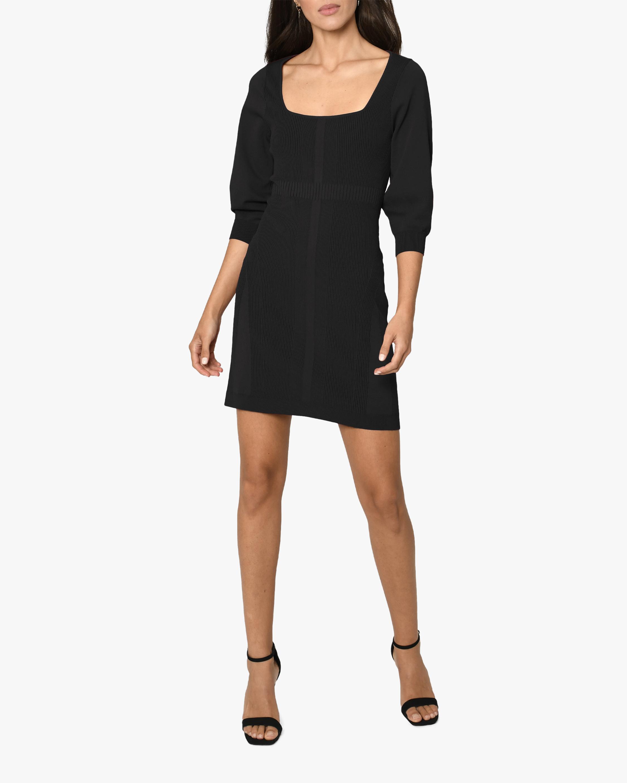 Nicole Miller Ribbed-Knit Mini Dress 3