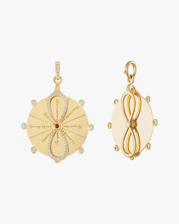 Eden Presley Magic 8 Spinner Earrings 0