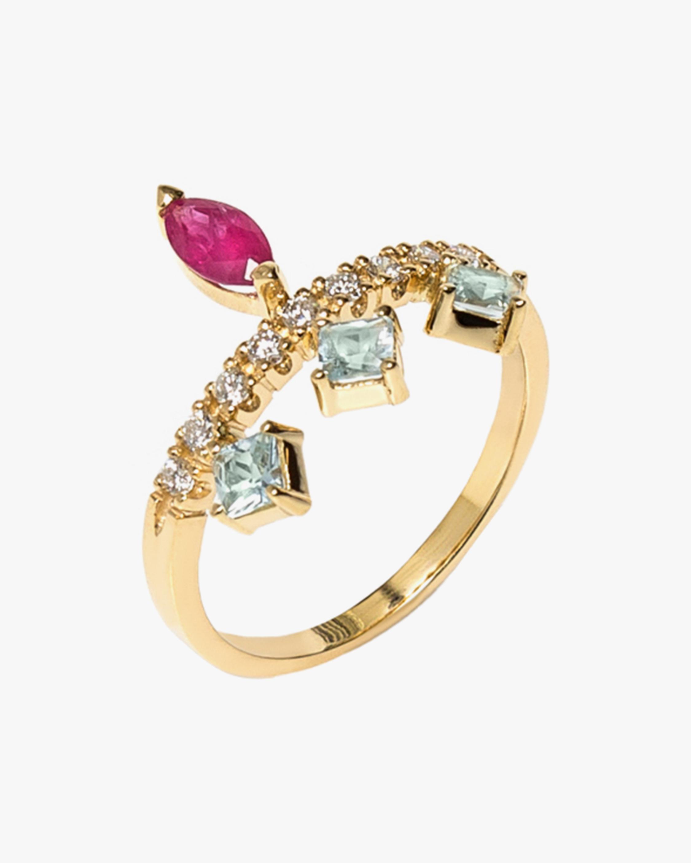 Carolina Neves Gemstone & Diamond Ring 1