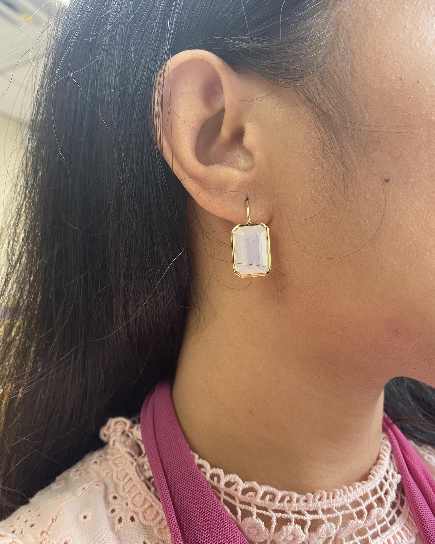 Goshwara Gossip Moon Quartz Earrings 1