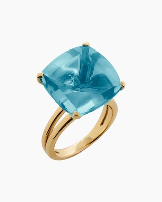 Goshwara Gossip Blue Topaz Ring 1