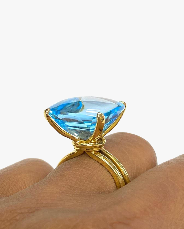 Goshwara Gossip Blue Topaz Ring 2