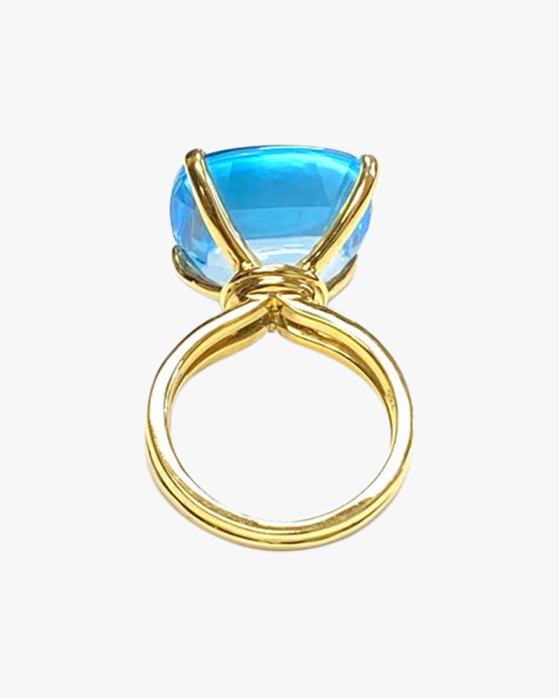 Goshwara Gossip Blue Topaz Ring 3