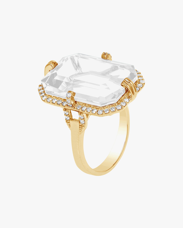 Goshwara Gossip Moon Quartz Ring 0