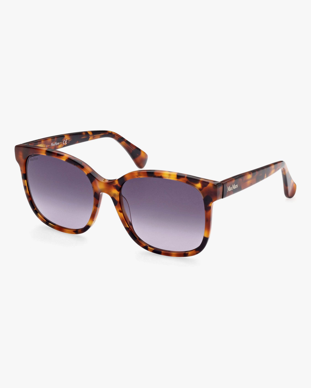 Max Mara Brown Square Sunglasses 0
