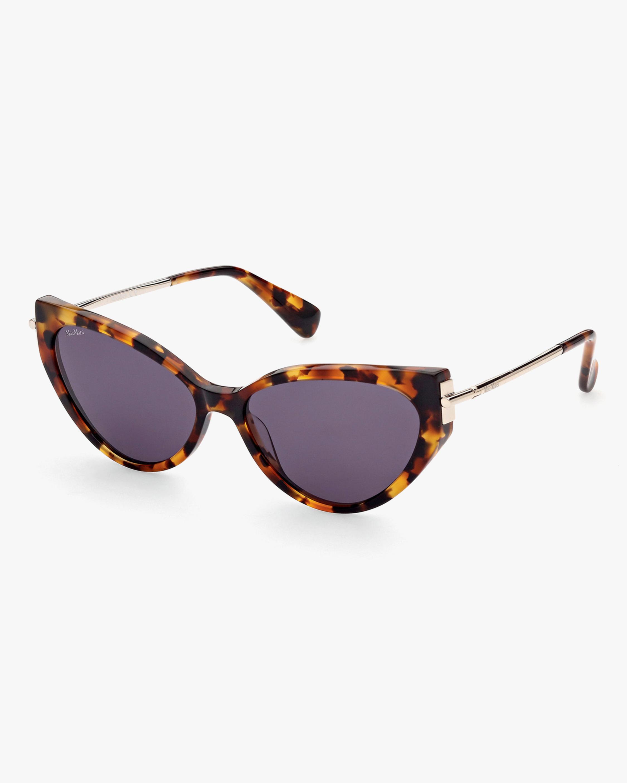 Max Mara Brown Cat-Eye Sunglasses 0