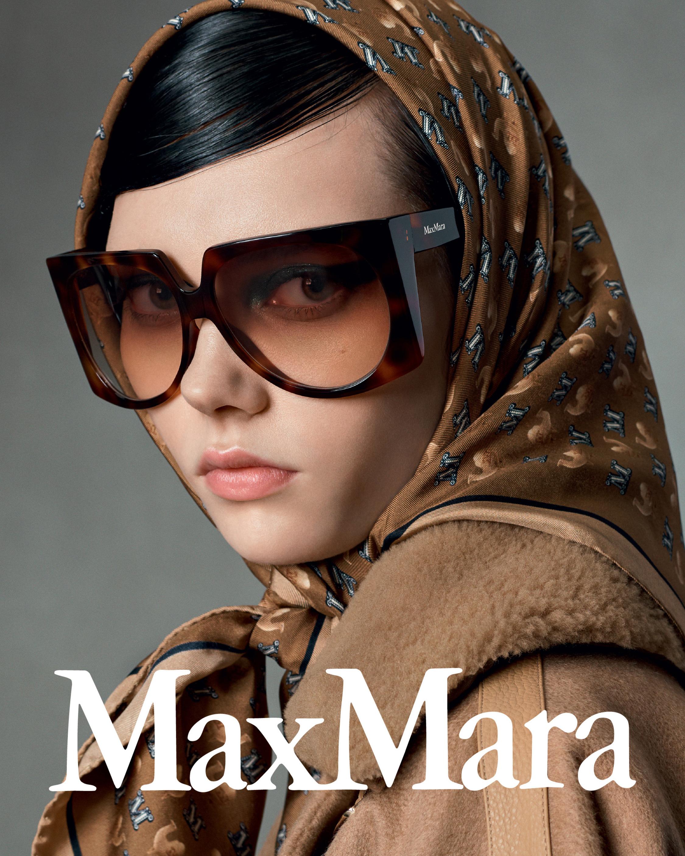 Max Mara Brown Geometric Sunglasses 2