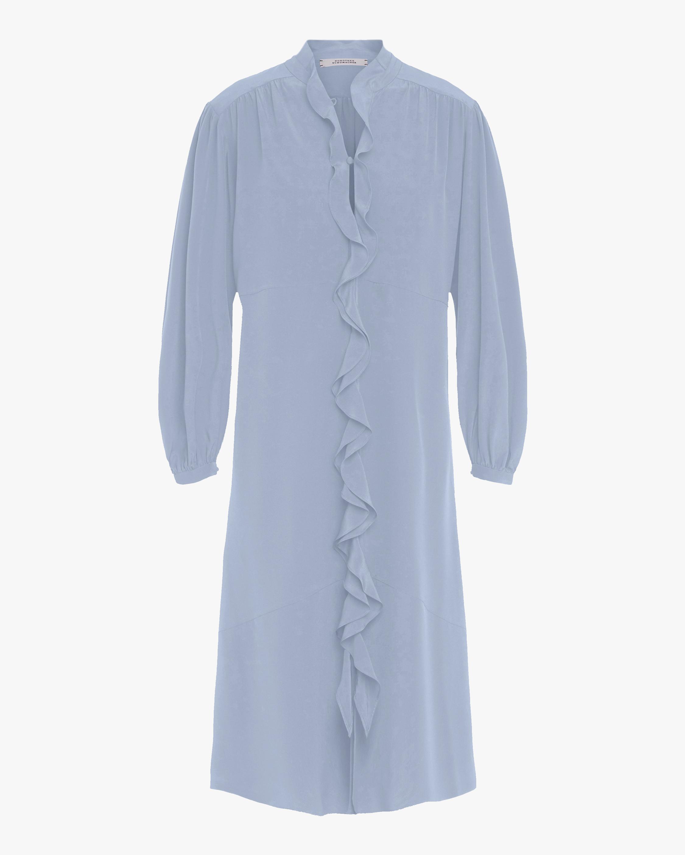 Dorothee Schumacher Fluid Volumes Ruffle Dress 1