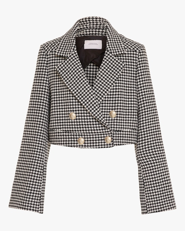 Dorothee Schumacher Graphic Softness Cropped Jacket 0