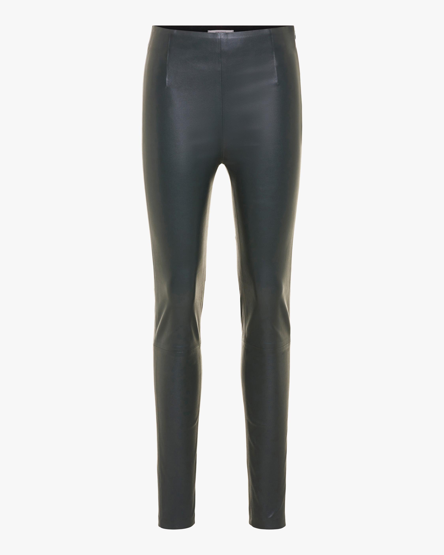 Sleek Comfort Leather Pants